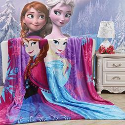 Blaze Children's Cartoon Printing Blanket Coral Fleece Blank