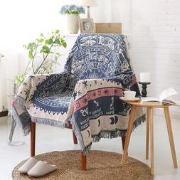 Classic European style sofa towel cover Geometry <font><b>Th