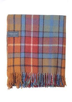 The Tartan Blanket Co. Recycled Wool Knee Blanket Buchanan A
