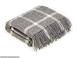 Bronte by Moon Natural Collection Pure New Wool Windowpane G
