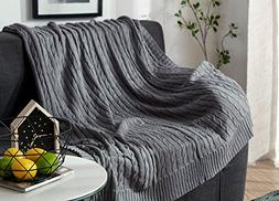 MEMORECOOL LIGHT UP YOUR HOME Cotton Blanket Throw Knitted G