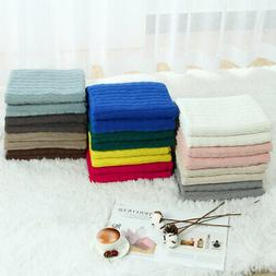 Cotton Knitted Throw Blanket Home Decor Sofa Bed Soft Warm C