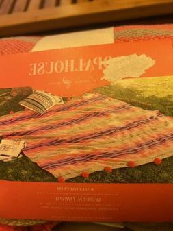 Cotton Woven Global Stripe Throw Blanket - Opalhouse