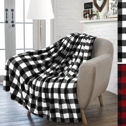 cozy soft microfiber flannel fleece throw blanket