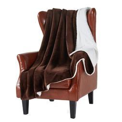 MERRYLIFE Sherpa Throw Blanket Ultra-Plush Comfort | Soft, C