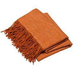 decorative soft indoor throw blanket