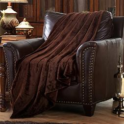 MERRYLIFE Decorative Throw Blanket Ultra-Plush Comfort | Sof