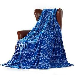 MerryLife Decorative Throw Blanket, Ultra-Plush Poly Fleece,