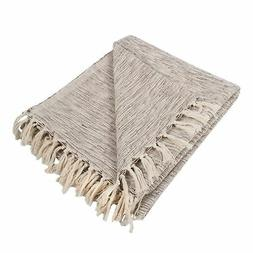 DII Variegated Decorative Throw