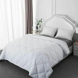 Down Throw Comforter Lightweight Thin Blanket for Couch Slee
