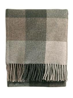 Pendleton Eco-Wise Washable Wool Fringed Throw Blanket, Juni