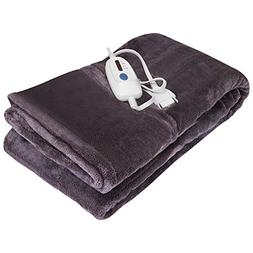 Utopia Bedding Electric Micro-Mink Throw - For Bed and Sofa