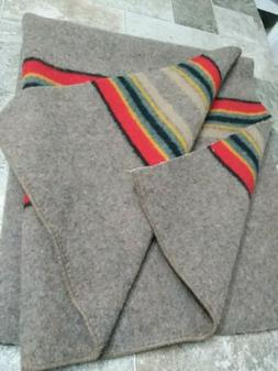 "PENDLETON WOOLEN MILL BLANKET WT.WOOL NEW FABRIC RREMNANT""CA"