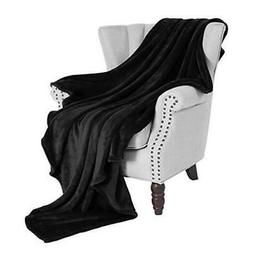Exclusivo Mezcla Soft Flannel Fleece Velvet Plush Throw Blan