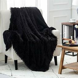 Bedsure Faux Fur Reversible Sherpa King Size Throw Blanket f