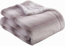 """Faux Fur Throw Blanket - Soft Cozy Warm Fur Blanket 50x60"""","""