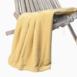Battilo Flannel Fleece Luxury Blanket Throw 200 GSM Lightwei