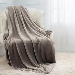 Moonen Flannel Throw Blanket Luxurious Throw Size Lightweigh