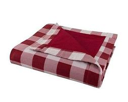 FLANNEL Throw by DELANNA, Reversible 2-Ply thick Blanket 100