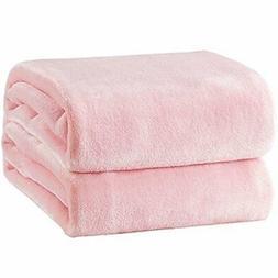 Bedsure Fleece Blanket Throw Size Pink Lightweight Throw  Pi