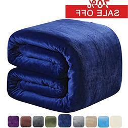 SOFTCARE Fleece Blanket Twin Size 350GSM Throw Blanket Super