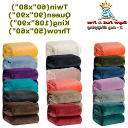 Fleece Blanket W/ Microfiber Polyester Fabric 240 GSM Twin T