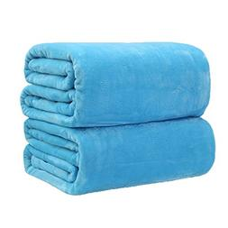 TiTa-Dong Fleece Flannel Blankets Throws Plush Velvet Soft B