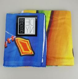 DENY Designs Fleece Throw Blanket 30 x 40 Inches Renie Brite