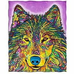 "Fleece Throw Blanket By Dean Russo  Home "" Kitchen"