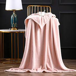 Bertte Fleece Throw Blanket Super Soft Cozy Warm Lightweight