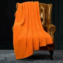 "Fluffy Velvet Throw, Super Soft Warm Faux Fur Blanket, 51""X"
