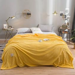 Yaapeet <font><b>Blankets</b></font> for Beds Solid Color So