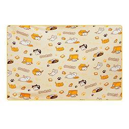KINOMOTO Game Neko Astume Blanket Coral Fleece Cute Kitty Ca