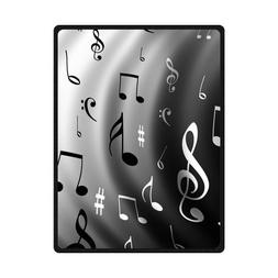 Generic Personalized Music Notes Black And White Series Spec