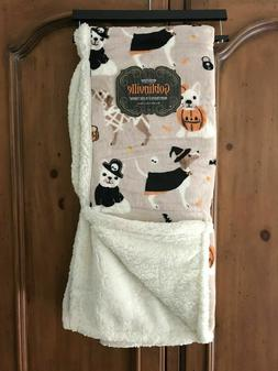 Berkshire Goblinville Reverse Sherpa Dog Costume Halloween T