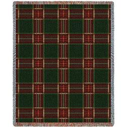 Pure Country Inc. Golf Plaid Blanket Tapestry Throw