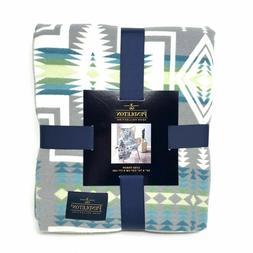 Pendleton Home Collection Grey Multicolor Aztec 50x70 Hardin