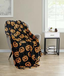 Halloween Jack-O'-Lantern Pumpkins Orange & Black Ultra Plus