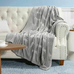 Bedsure Healing Thoughts Throw Blanket