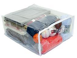 Oreh Homewares Heavy Duty Vinyl Zippered  Large Storage Bags