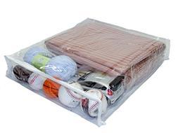 Oreh Homewares Heavy Duty Vinyl Zippered  Storage Bags  for