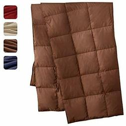 Home & Kitchen Features Packable Down Throw Sport Blanket, D