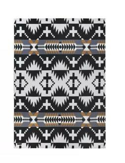 Pendleton Home Collection Spider Rock Luxe Black Brown Gray