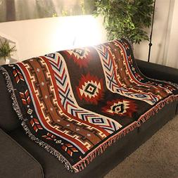 Home Decor Aztec Navajo Towel Mat Throw Wall Hanging Cotton