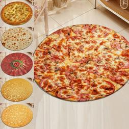 Hot! Burrito Pizza Blanket Throw Tortilla Texture Fleece Thr