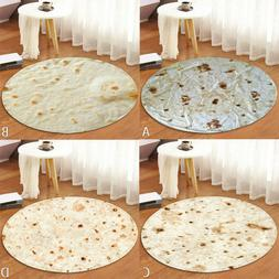 "HOT! Tortilla Blanket Burrito 60"" Blanket - Corn and Flour T"