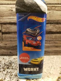 Hot Wheels Race Cars 46in x 60in Kids Silky Soft Fleece Thro