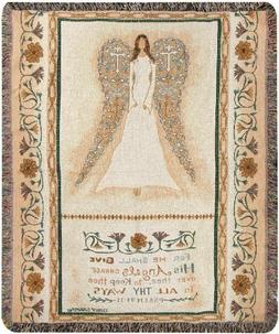 Manual Inspirational Collection Tapestry Throw with Verse, A