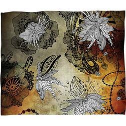 Deny Designs Iveta Abolina Nightplay Fleece Throw Blanket, M