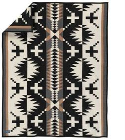 Pendleton 'Spider Rock' Jacquard Throw - Black